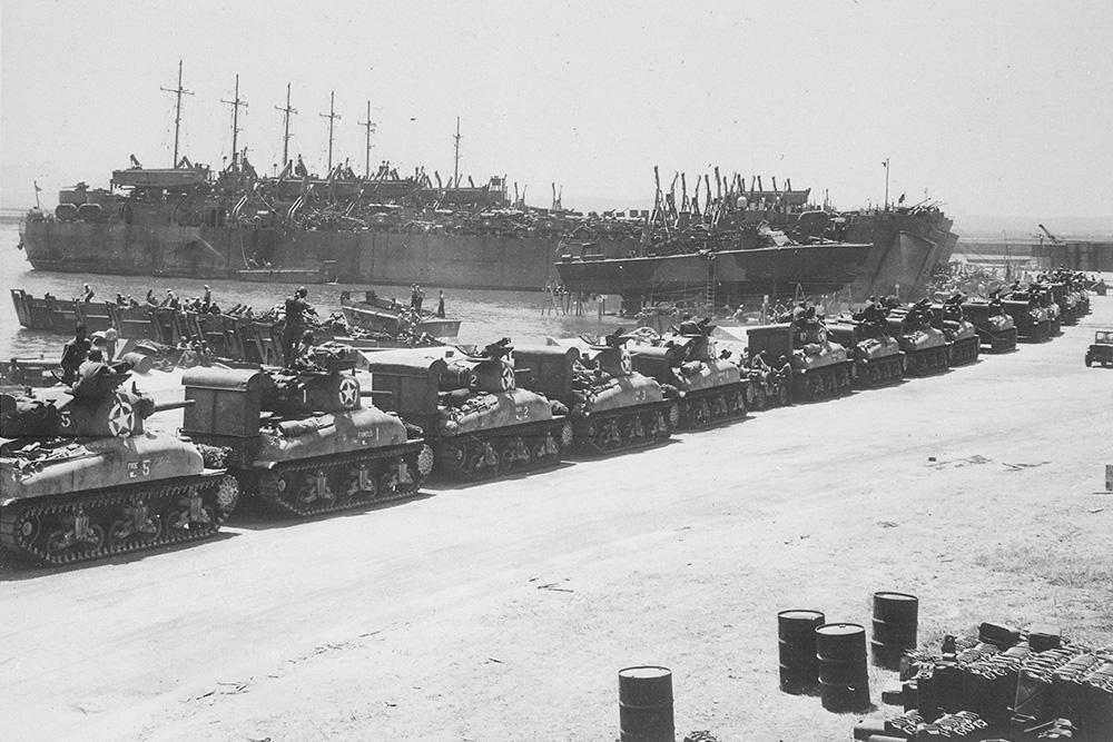 Voormalige Franse Marinebasis La Pecherie