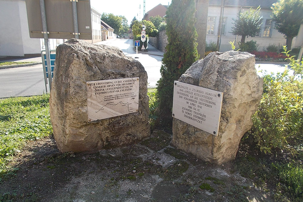 Memorial Ethnic Germans Zsámbék