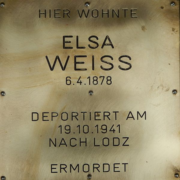 Gedenksteen Auer-Welsbach-Straße 24
