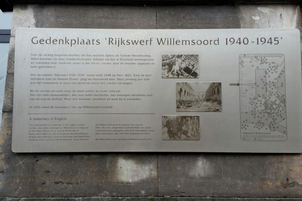 Monument Burgerslachtoffers Rijkswerf Willemsoord Den Helder Den