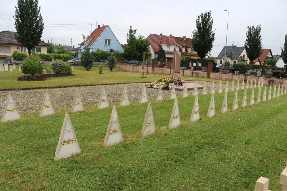 Sovjet Oorlogsgraven Haguenau