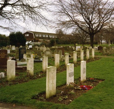 Commonwealth War Graves Gravesend Cemetery