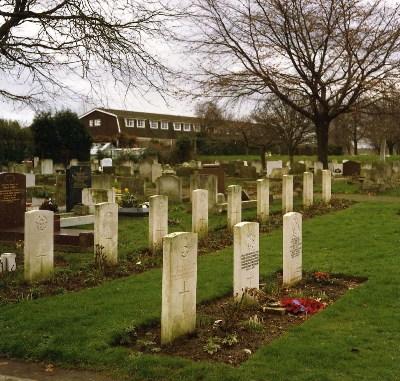 Oorlogsgraven van het Gemenebest Gravesend Cemetery