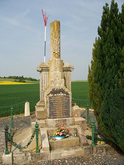 Monument Crash Halifax Mark V