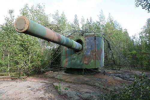 Kalixlinie - Batterij Häggmansberget