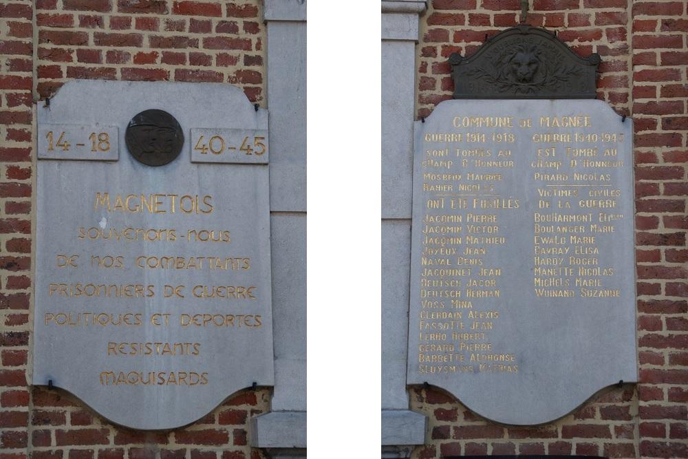 War Memorial Magnée