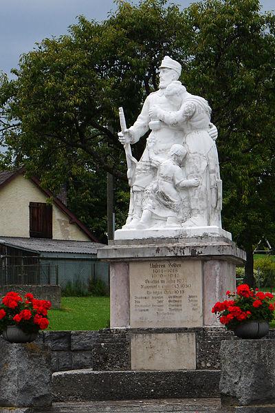 Oorlogsmonument Bruckmühl