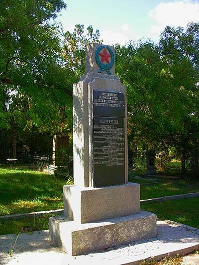 Sovjet Oorlogsgraven Grazhdanskaya