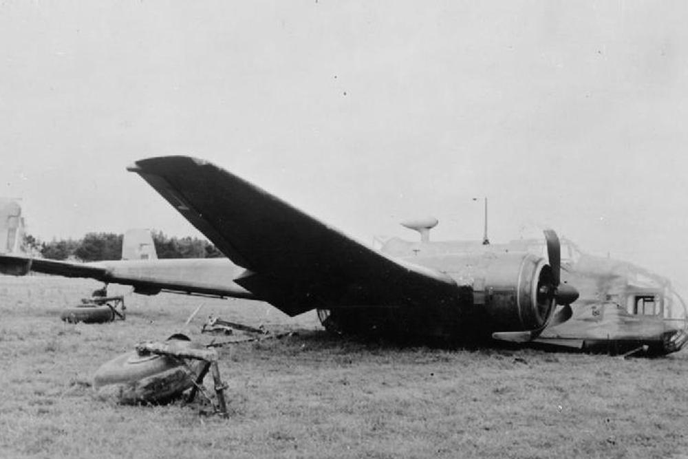 Crashlocatie Handley Page Hampden L4105/D
