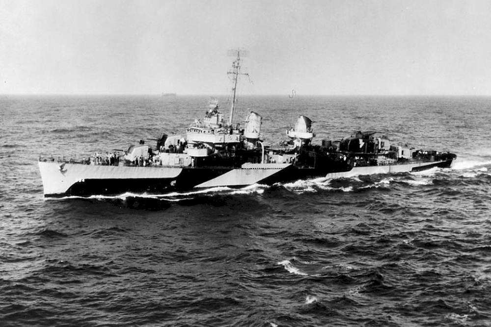 Ship Wreck USS Halligan (DD-584)
