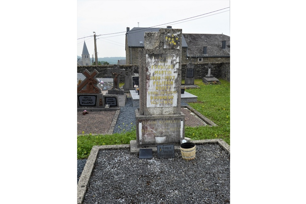 Belgian War Graves Fays-les-Veneurs