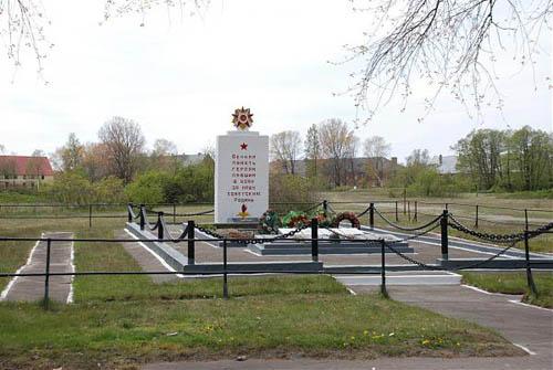 Massagraf Sovjet Soldaten Wislaschoorwal 1945