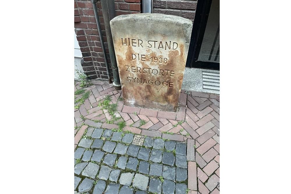 Monument Verwoeste Synagoge