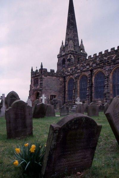 Oorlogsgraven van het Gemenebest St. Helen Churchyard
