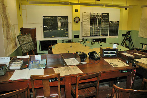 RAF Digby World War Two Sector Operations Room Museum