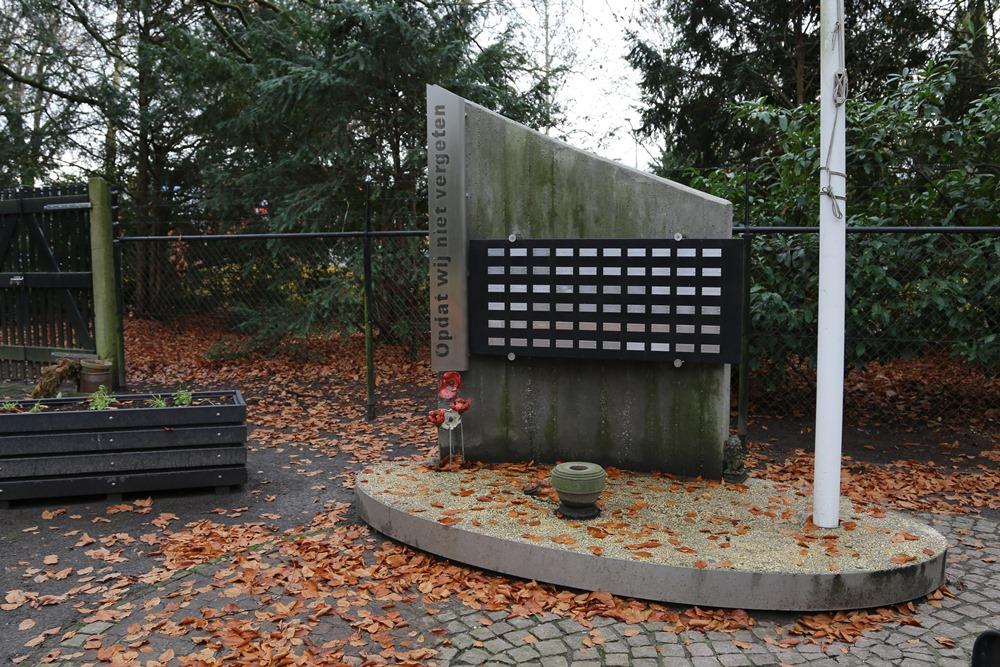 War memorial Old General Cemetery Valkenswaard