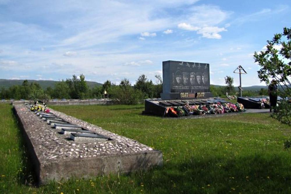 Soviet War Cemetery Pechenga