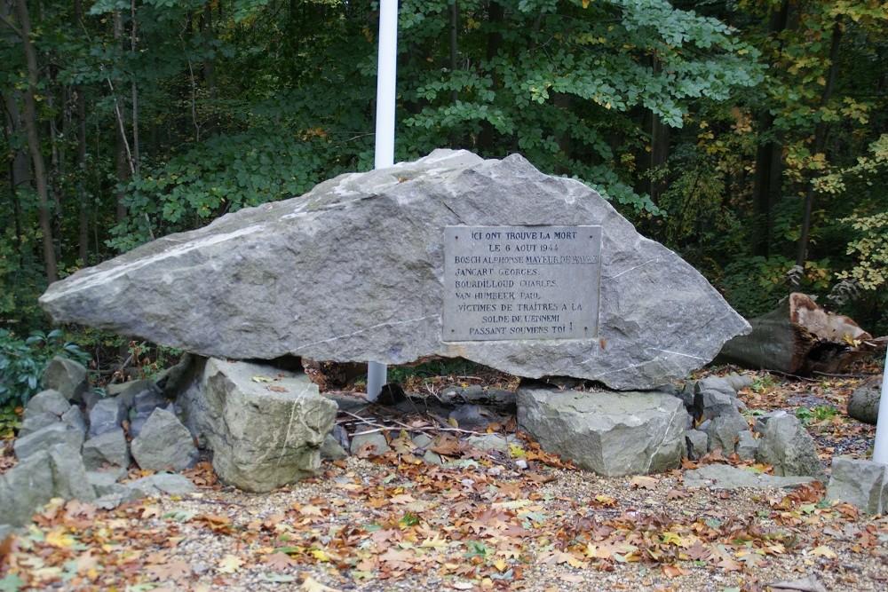 Monument Excecuties 6 Augustus 1944 Wavre