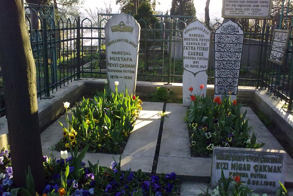 Graves Turkish War Veterans