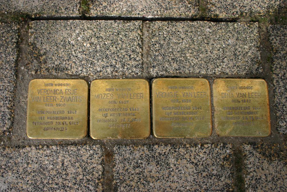 Stolpersteine Noordkade 106