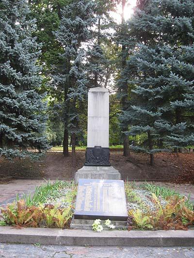 Mass Grave Soviet Soldiers Rivne