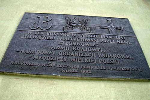 Plaque Victims NKVD