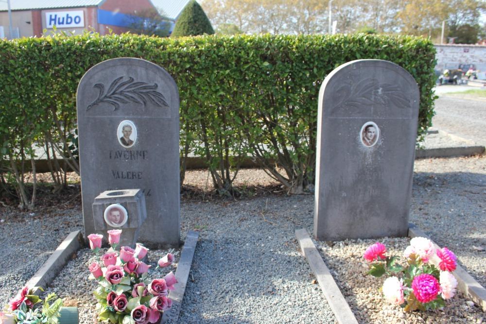 Belgische Oorlogsgraven Nieuwe Gemeentelijke Begraafplaats Lessines