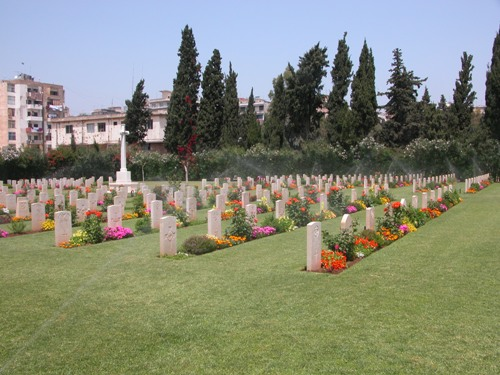 Commonwealth War Cemetery Beirut