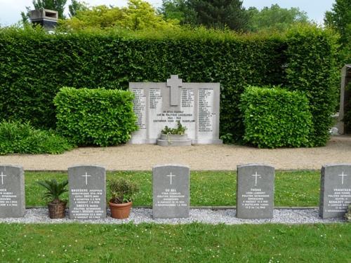 Monument Omgekomen Politieke Gevangenen Gemeentelijke Begraafplaats Hasselt