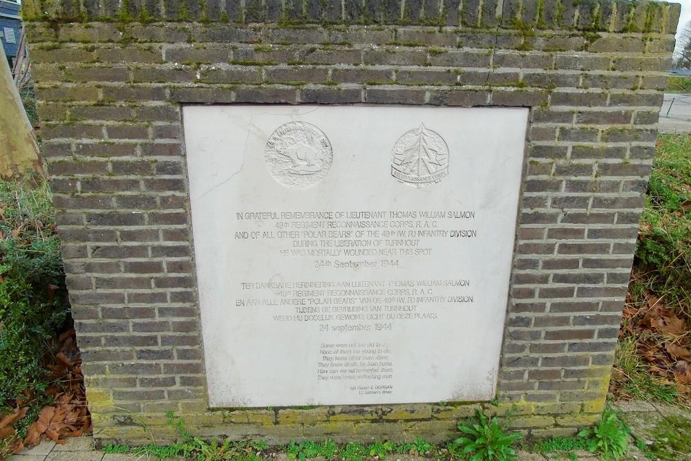 Monument Luitenant Thomas William Salmon