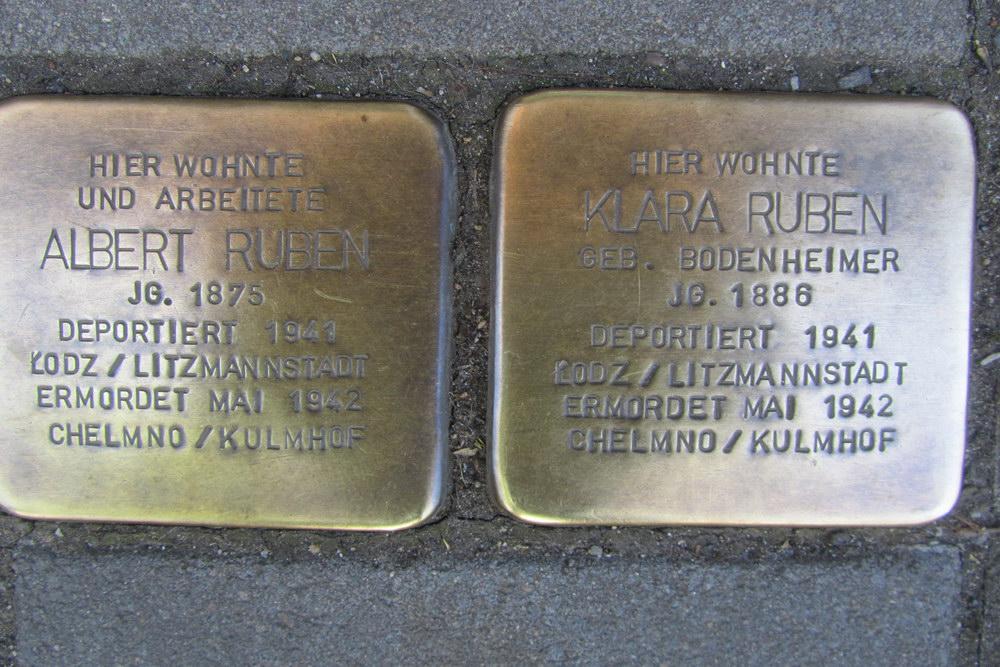 Stolpersteine Sudermanstraße 3
