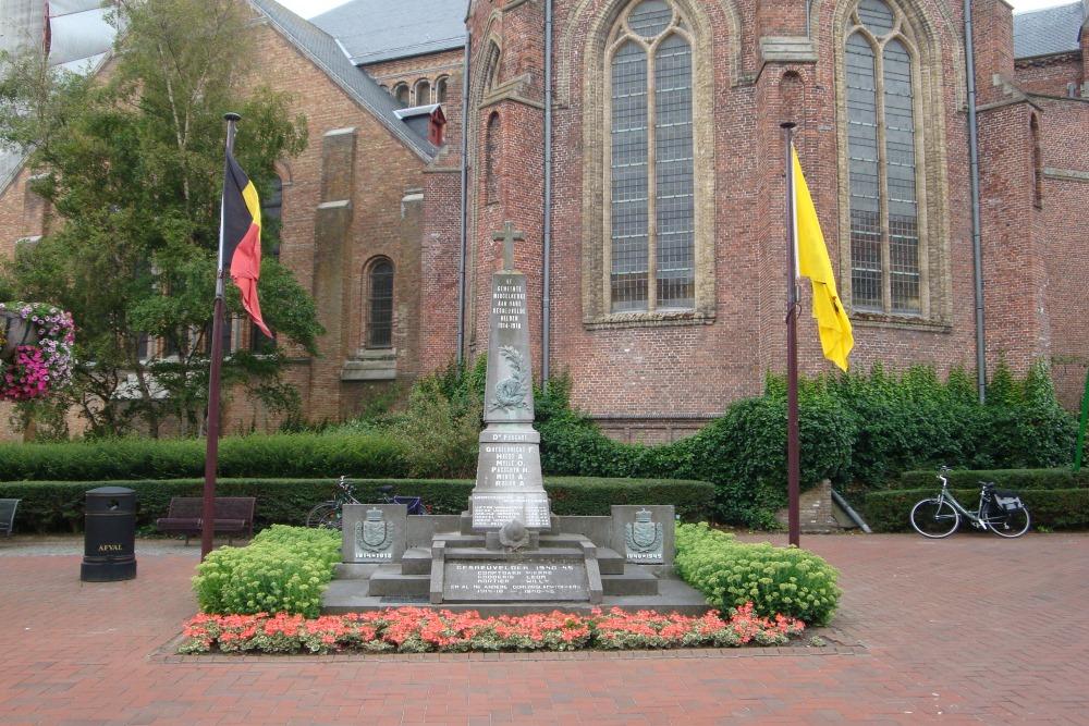 War Memorial Middelkerke