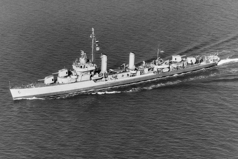 Ship Wreck U.S.S. Maddox (DD-622)