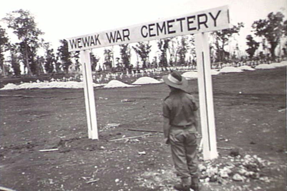 Location Temporary War Cemetery Wewak