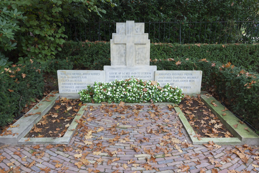 Dutch War Graves Old General Cemetery Leersum