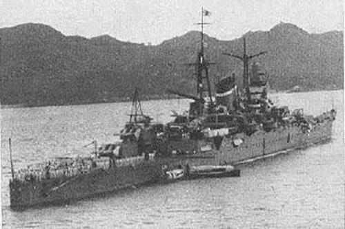 Ship Wreck Heavy Cruiser