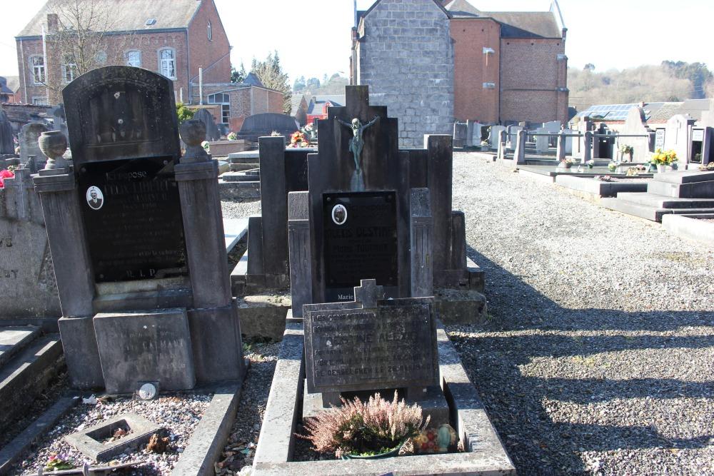 Belgische Oorlogsgraven Houyet