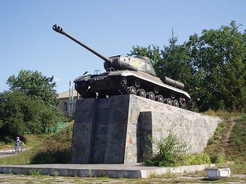 Bevrijdingsmonument (IS-2 Tank) Hrebinka
