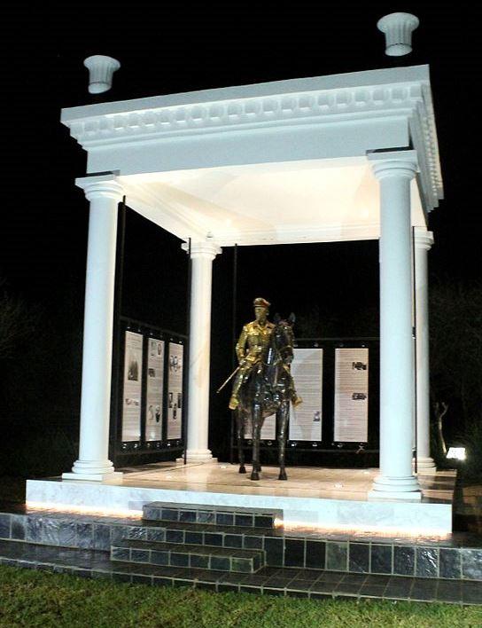 Equistrian Statue of Jan Smuts