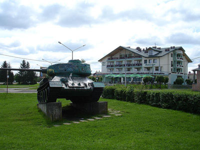 Liberation Memorial (T-34/85 Tank) Sanok