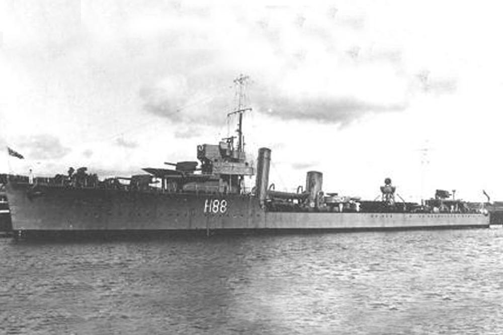 Shipwreck H.M.S. Wakeful (H88)