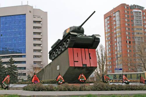 Bevrijdingsmonument (T-34/85 Tank) Rostov-na-Donu