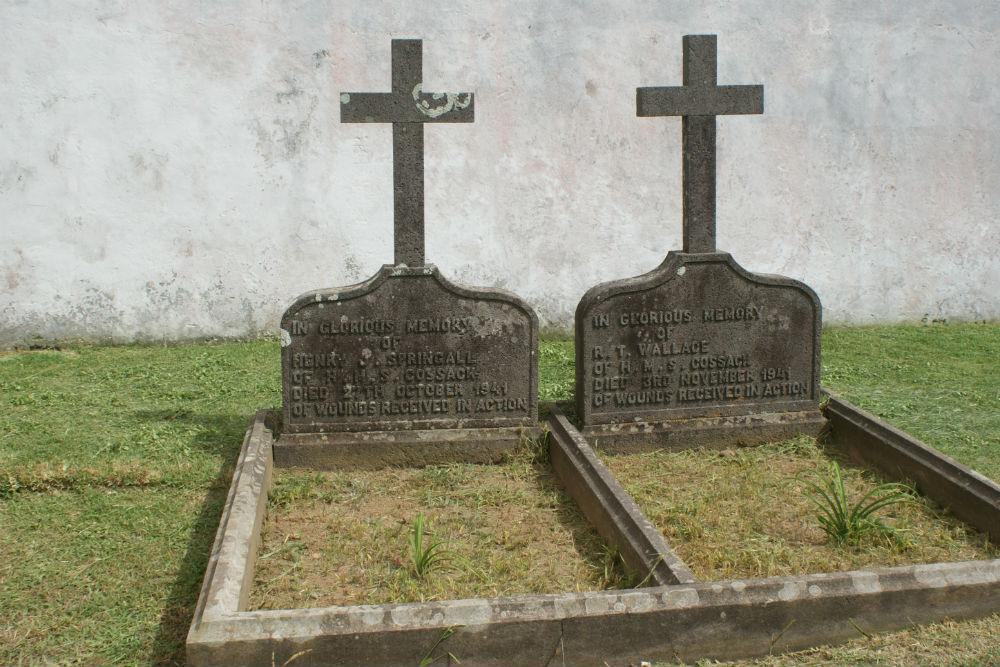 Oorlogsgraven van het Gemenebest Ponta Delgada (Azoren)