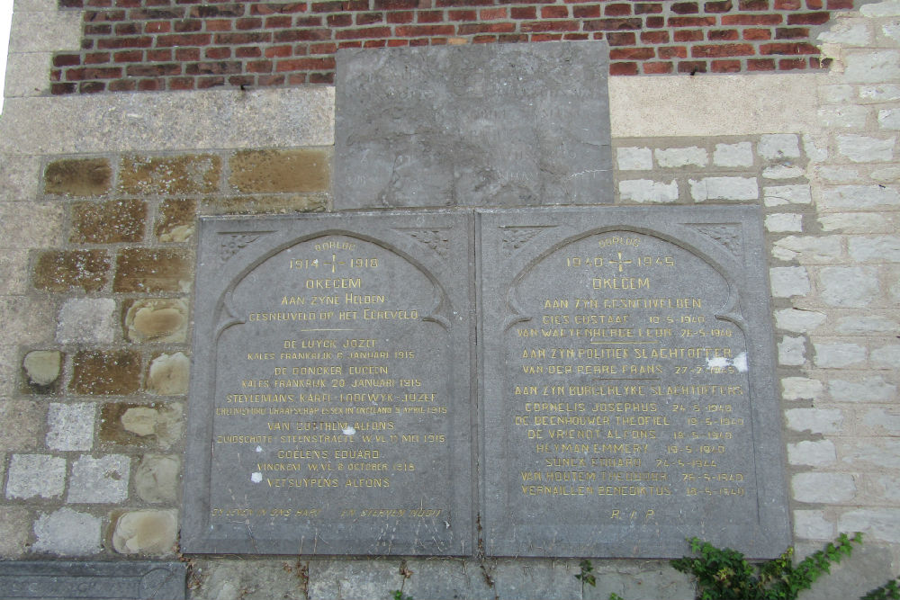 War Memorial Okegem
