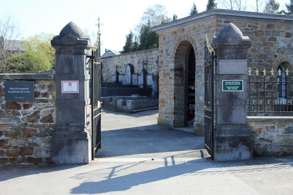Belgische Oorlogsgraven Huy (La Sarte)