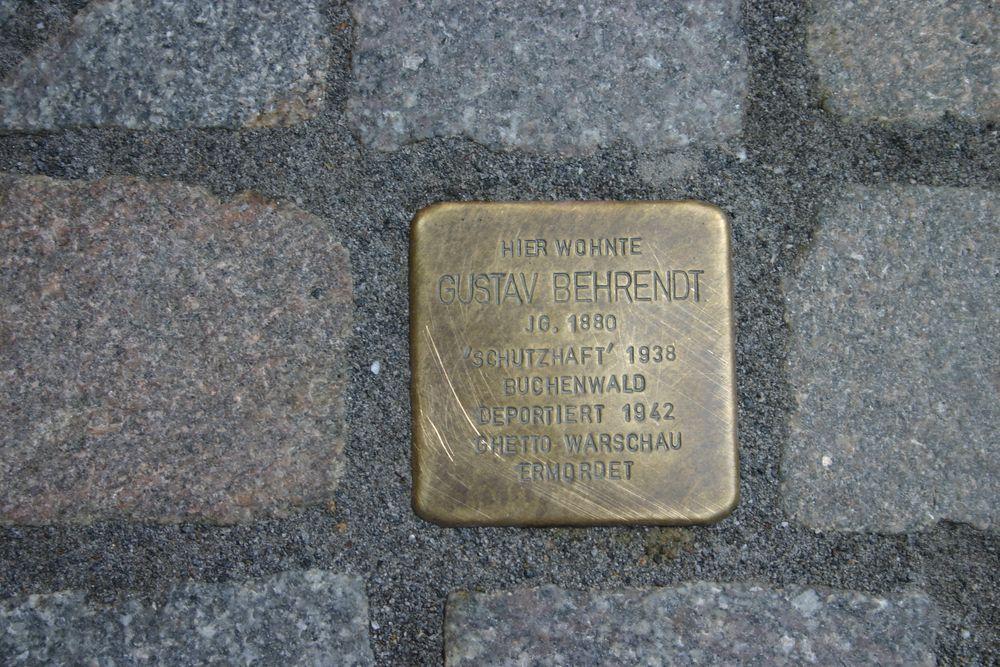 Stolperstein Backerstrasse 25