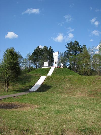 Monument Parachutisten & Graf Aleksei Rogov
