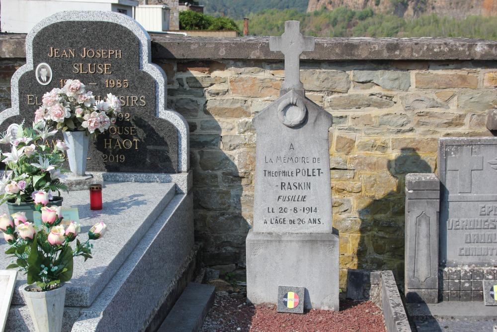 Belgische Oorlogsgraven Poulseur