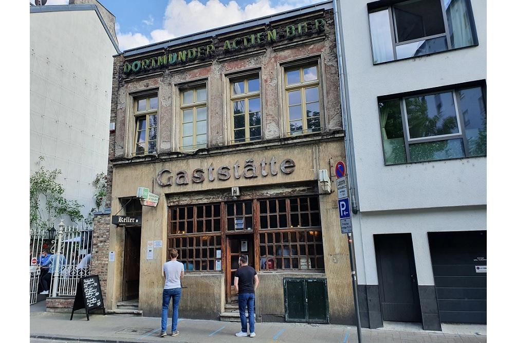 Gaststätte Lommerzheim - Bombing Damage