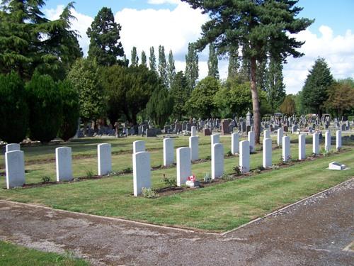 Oorlogsgraven van het Gemenebest Evesham Cemetery